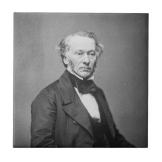 Hon. Richard Cobden M.P. Portrait c. 1865 Small Square Tile