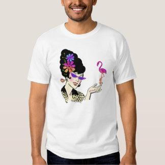 Hon with Flamingo Tee Shirt