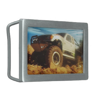 Honcho in the Sun Rectangular Belt Buckle