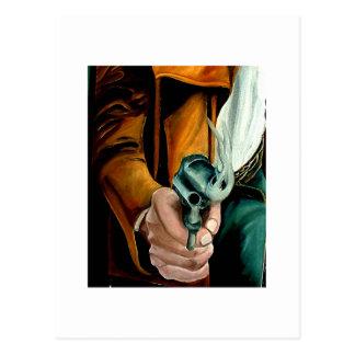Hondero del arma tarjetas postales