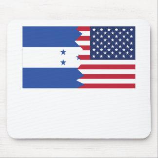 Honduran American Flag Mouse Pad