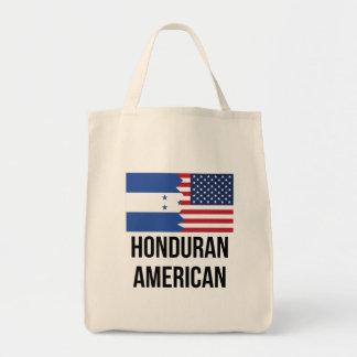 Honduran American Flag Tote Bag
