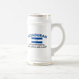 Honduran apuesto tazas de café