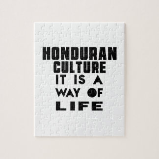 HONDURAN CULTURE IT IS A WAY OF LIFE JIGSAW PUZZLES