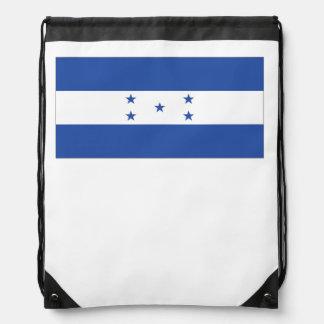 Honduran Flag Drawstring Backpack