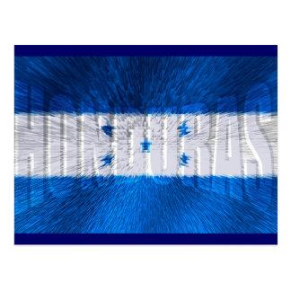 Honduran flag of Honduras artwork gift ideas Postcard