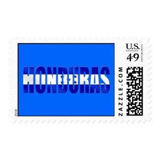 Honduran flag of honduras logo emblem gifts postage stamp