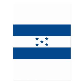 Honduran Flag Postcard