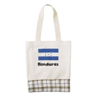 Honduran Flag Zazzle HEART Tote Bag