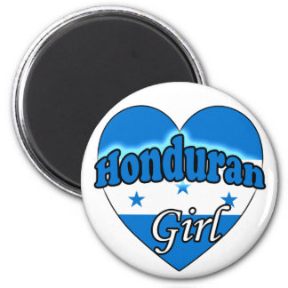 Honduran Girl Refrigerator Magnet