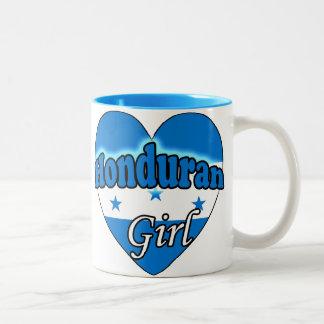 Honduran Girl Two-Tone Coffee Mug