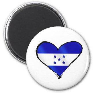 Honduran Love - I Love Honduras flag gifts Refrigerator Magnet