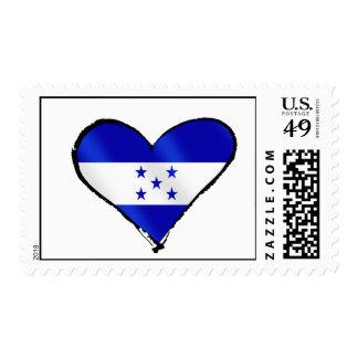 Honduran Love - I Love Honduras flag gifts Postage