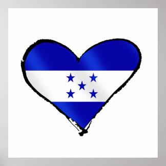 Honduran Love - I Love Honduras flag gifts Posters