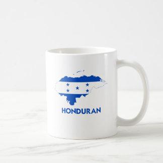HONDURAN MAP CLASSIC WHITE COFFEE MUG