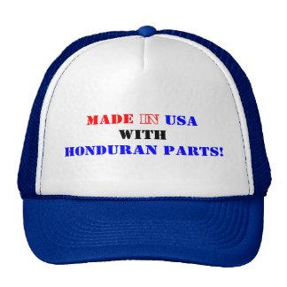 HONDURAN PARTS TRUCKER HAT