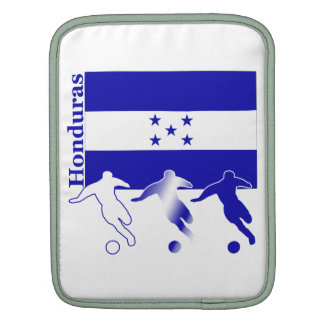 Honduran Soccer Players Sleeves For iPads