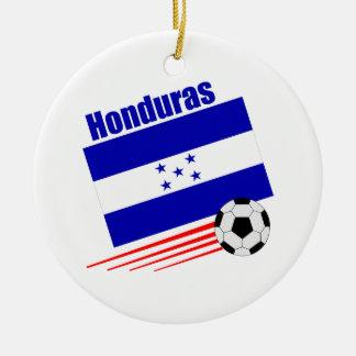 Honduran Soccer Team Ceramic Ornament