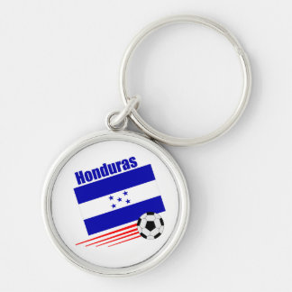 Honduran Soccer Team Keychain
