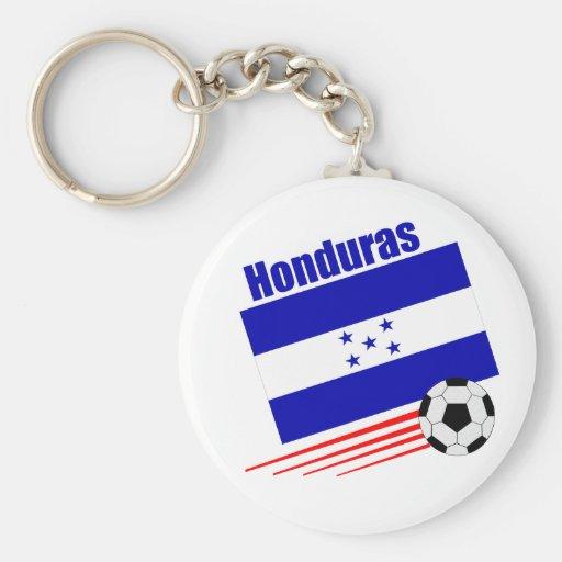 Honduran Soccer Team Keychains