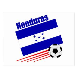 Honduran Soccer Team Postcard