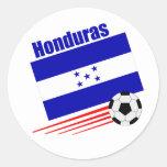 Honduran Soccer Team Sticker