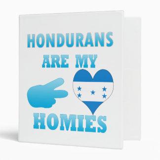 Hondurans are my Homies Vinyl Binders