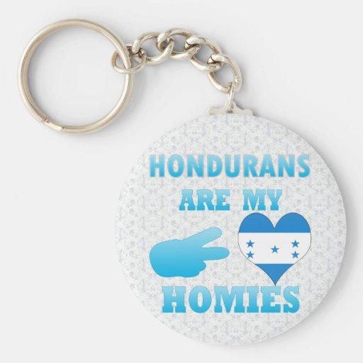 Hondurans are my Homies Key Chain