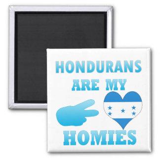 Hondurans are my Homies Refrigerator Magnet