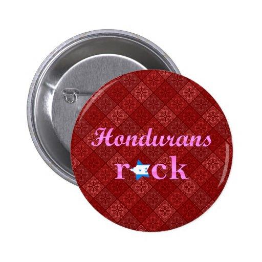 Hondurans Rock - Cute Pink 2 Inch Round Button