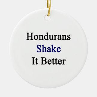Hondurans Shake It Better Christmas Tree Ornament