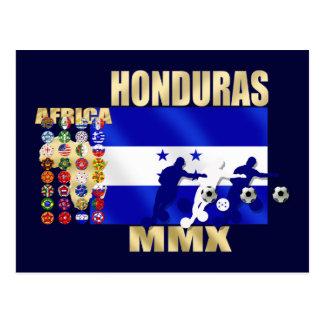 Honduras 32 qualifying countries fans futbol art postcard