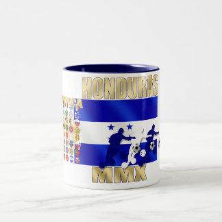 Honduras 32 qualifying countries fans futbol art Two-Tone coffee mug