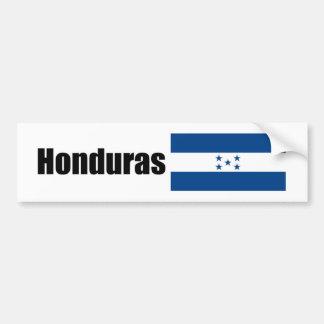 Honduras bandera de Hondurian Pegatina De Parachoque