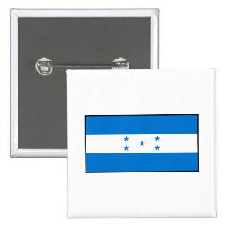 Honduras - bandera del Honduran Pin Cuadrada 5 Cm