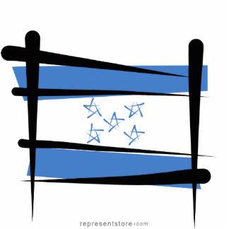 Honduras Brush Flag Cutout