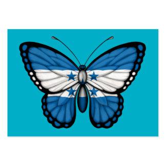 Honduras Butterfly Flag Business Cards