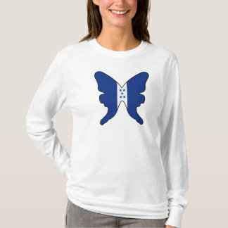 Honduras Butterfly Women T-Shirt