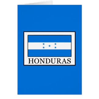Honduras Card