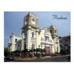 honduras cathedral post card