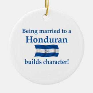 Honduras Character Ceramic Ornament
