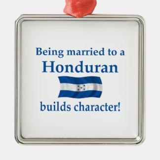 Honduras Character Metal Ornament