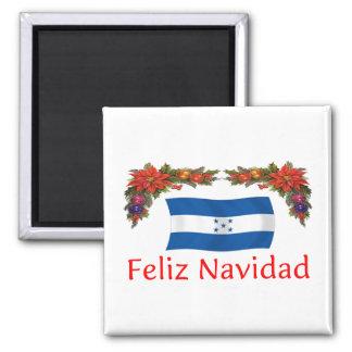 Honduras Christmas 2 Inch Square Magnet