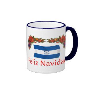 Honduras Christmas Ringer Coffee Mug