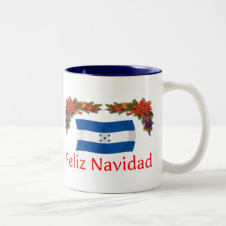 Honduras Christmas Two-Tone Coffee Mug
