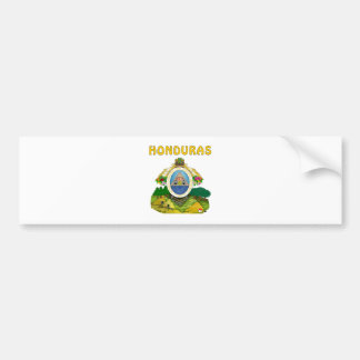Honduras Coat Of Arms Car Bumper Sticker