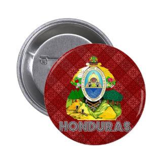 Honduras Coat of Arms Pinback Buttons