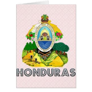 Honduras Coat of Arms Card