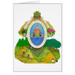 Honduras Coat of Arms Cards