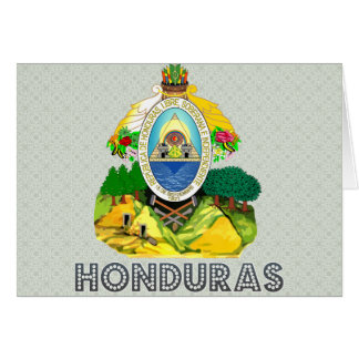 Honduras Coat of Arms Cards